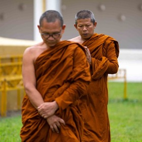 Buddhist monks have a lot of power and influence in Sri Lanka.