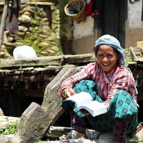 Many areas of Nepal don't have access to education or God's Word.