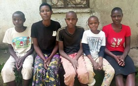 Fazira and her children are looking for a new place to live.