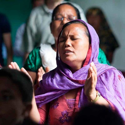 Hindus managed to disrupt a church in western Nepal, but others are still worshipping.